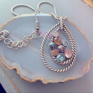 Brighton Reversible Pendant Necklace